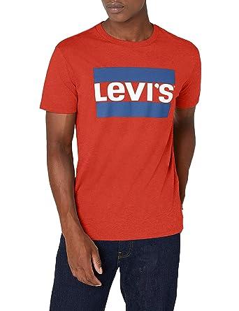 Levi's Graphic Camiseta, Azul (Sportswear Logo Allure Blue Heather 0005), Large para Hombre amazon azul Camisetas polo