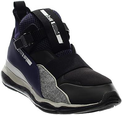 b34cf3aeb67 Alexander McQueen By Puma Cell Mid Men US 7 Blue Sneakers