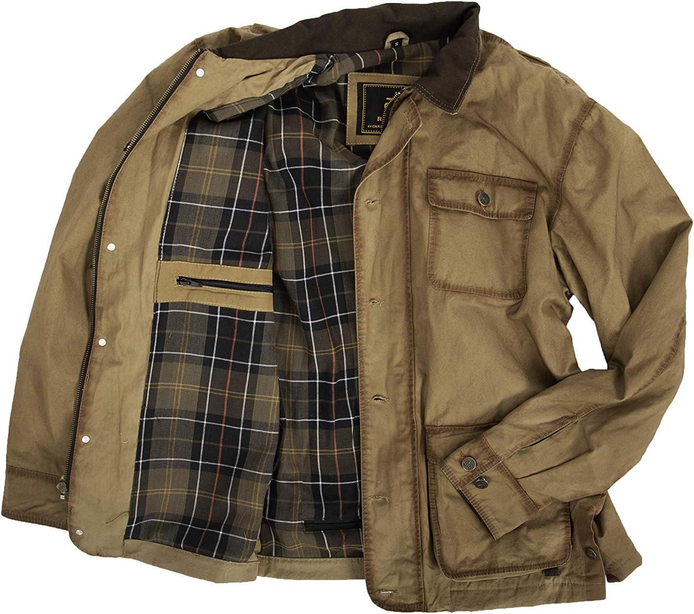 STS Ranchwear Mens Field Jacket Khaki extra large