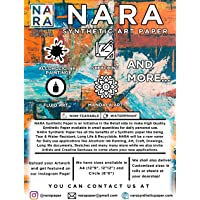 """NARA® Paper for Alcohol Ink Painting 