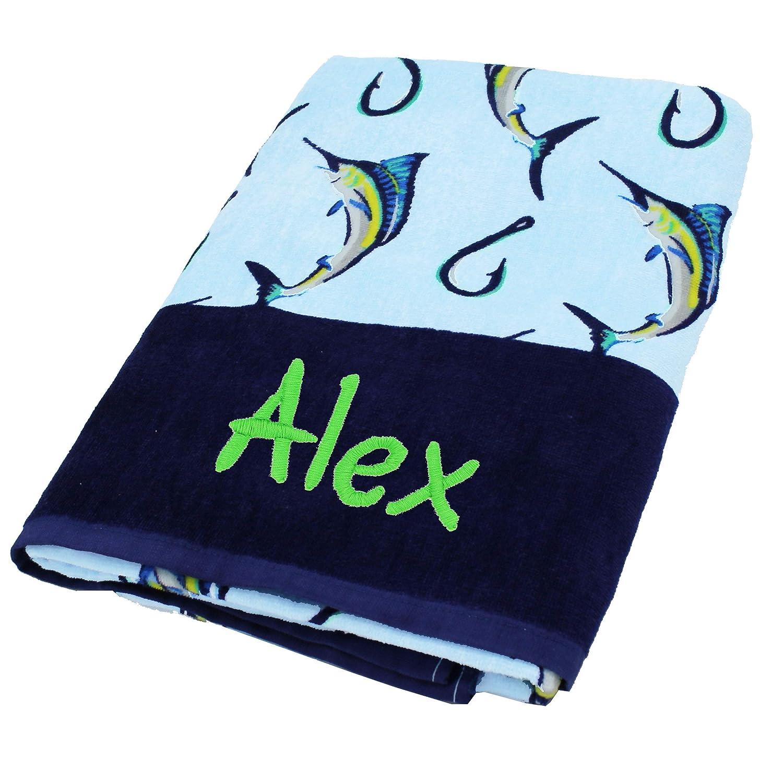 My Personal Memories Monogrammed Baby Beach Towel