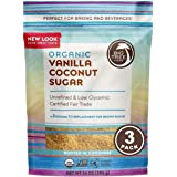 Big Tree Farms Organic Vanilla Coconut Sugar, Vegan, Gluten Free, Paleo, Certified Kosher, Cane Sugar Alternative, Substitute