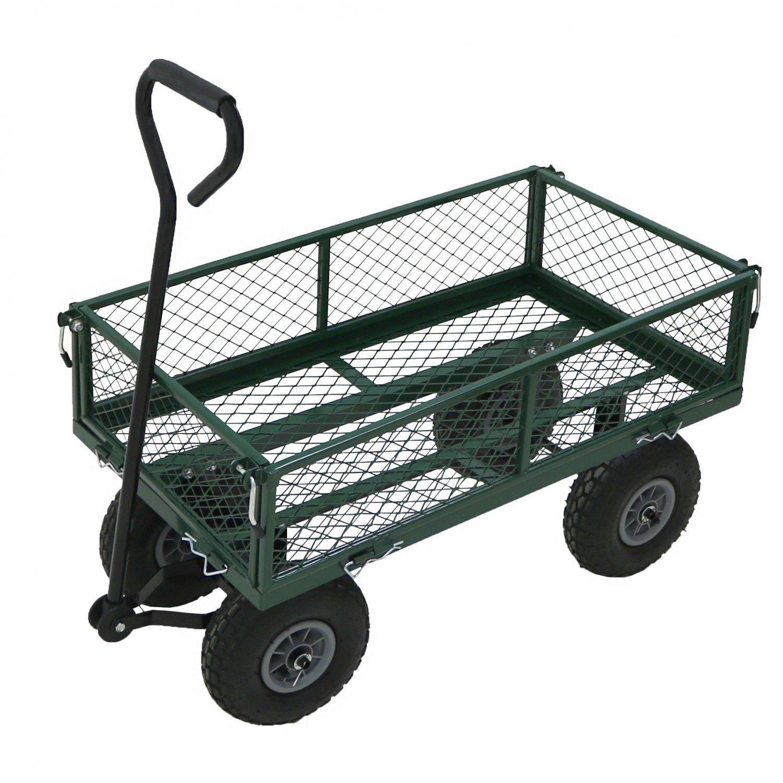 Oypla Large Garden Cart Truck Trolley Utility Cart 37' x 20' OYP3053
