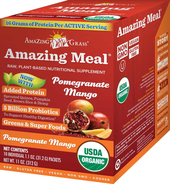 Fórmulas increíbles de comida Amazing Grass ...