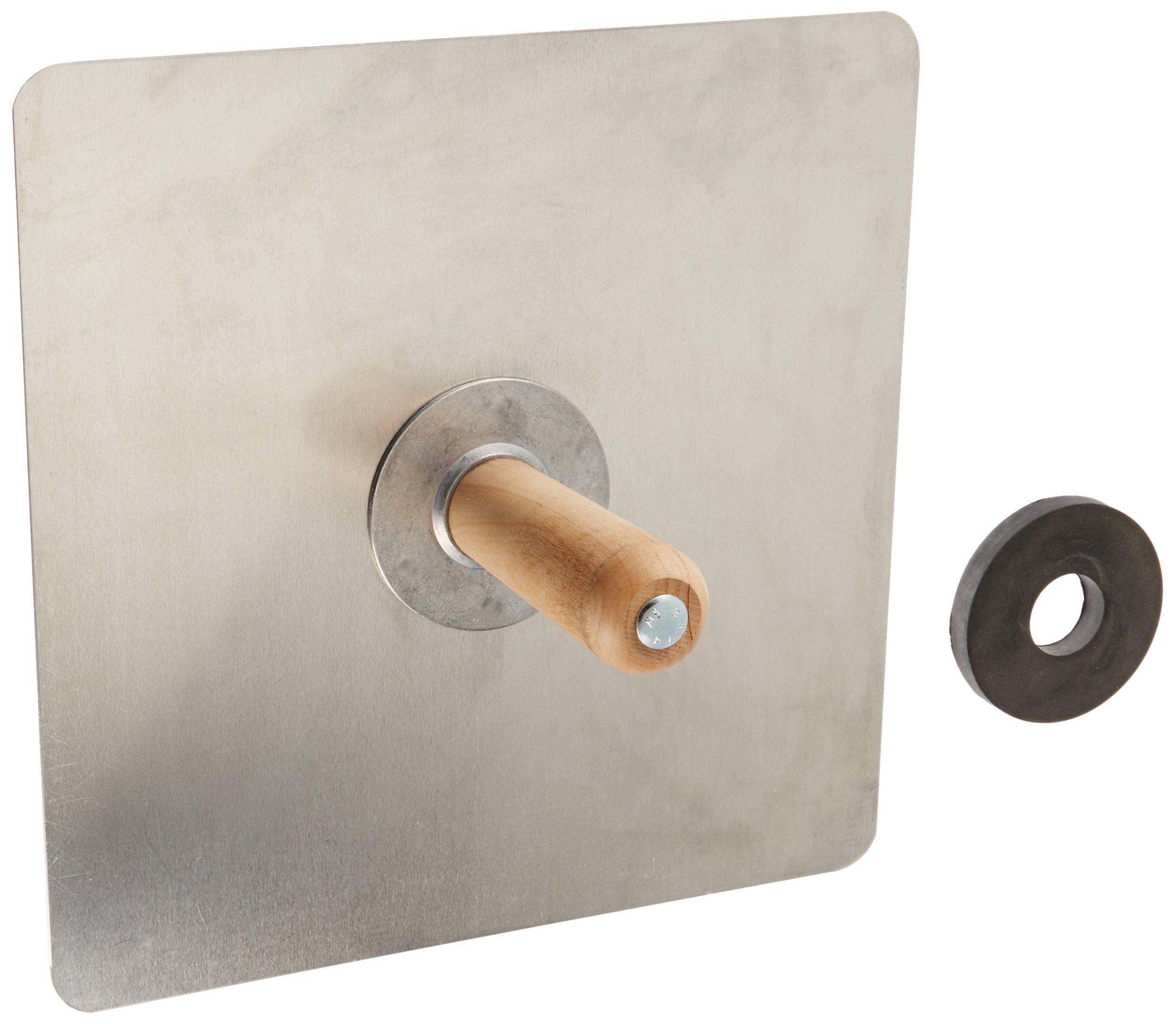 SL520 - 13-13- Aluminum Plastering Hawk by Sands Level & Tool