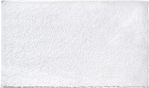 "AmazonBasics Performance Bath Rug, 17"" x 24"", White"
