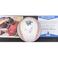 $74 » Luis Robert Chicago White Sox Autographed Signed Official Major League 2019 Futures Game Baseball Beckett Rookie COA So