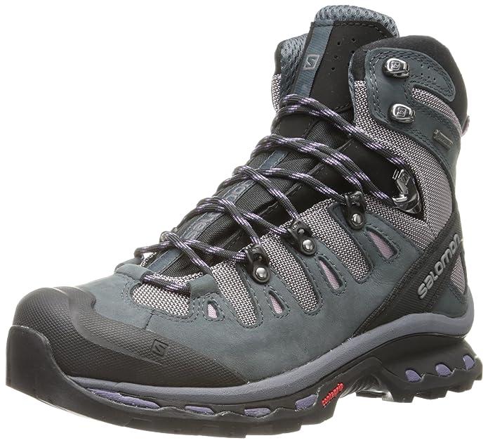 SalomonQuest 4D 2 GTX - Zapatillas de Trekking y Senderismo de Media caña Mujer, Color Azul, Talla 38 2/3: Amazon.es: Zapatos y complementos