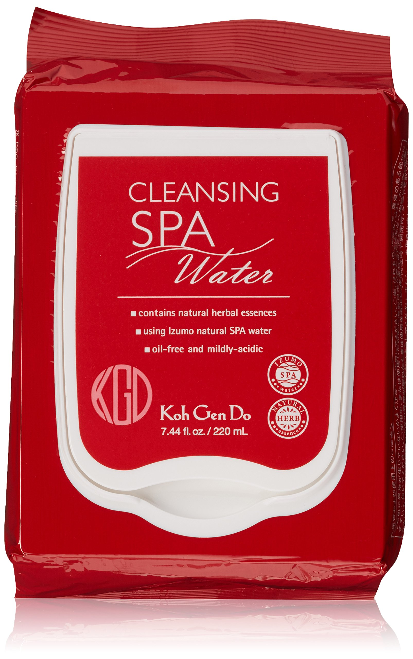 Koh Gen Do Spa Cleansing Water Cloth, Unscented, 40 ct. by Koh Gen Do (Image #1)
