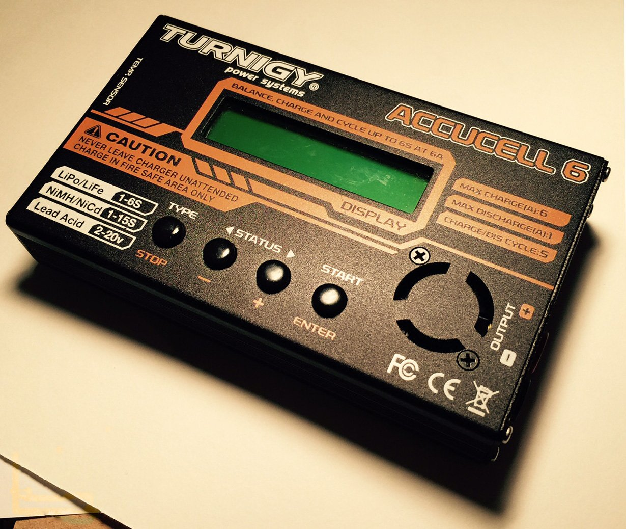 Turnigy Accucel-6 50W 6A Balancer Charger LiPo LiFe NiMh NiCd JST-XH w/ MANUAL!