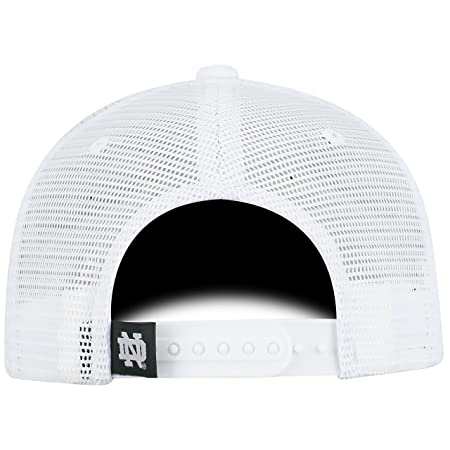 6ec59922b56 Amazon.com   Top of the World Notre Dame Fighting Irish Official NCAA  Adjustable 36th Ave Hat Cap Curved Bill Mesh 390932   Sports   Outdoors
