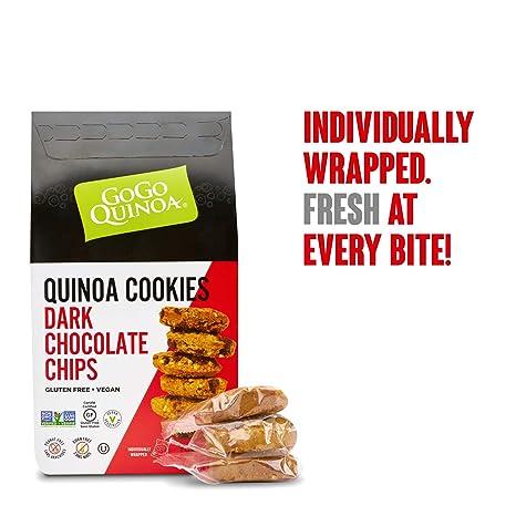 GoGo Quinoa Organic Rich & Dark, Peanut Free Vegan Chocolate ...