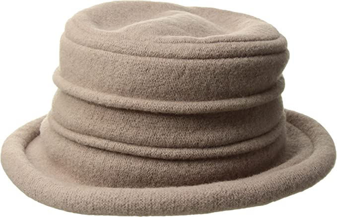 1fed5087 Image Unavailable. Image not available for. Color: Scala Collezione Women's  Packable Wool Cloche Hat ...