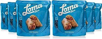 Loma Linda Blue - Vegan Meal Solution - Chorizo (10 oz.) (Pack of 6) - Non-GMO, Gluten Free