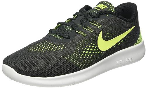 Nike Free run 2 Gr. 38 grau gelb sneaker