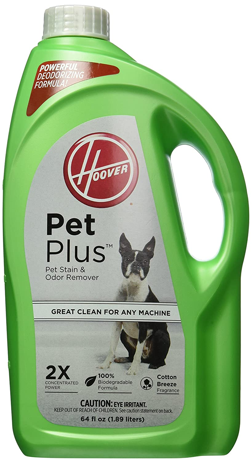 Hoover Shampoo, Petplus 2X Stain and Odor Remover 64 oz.