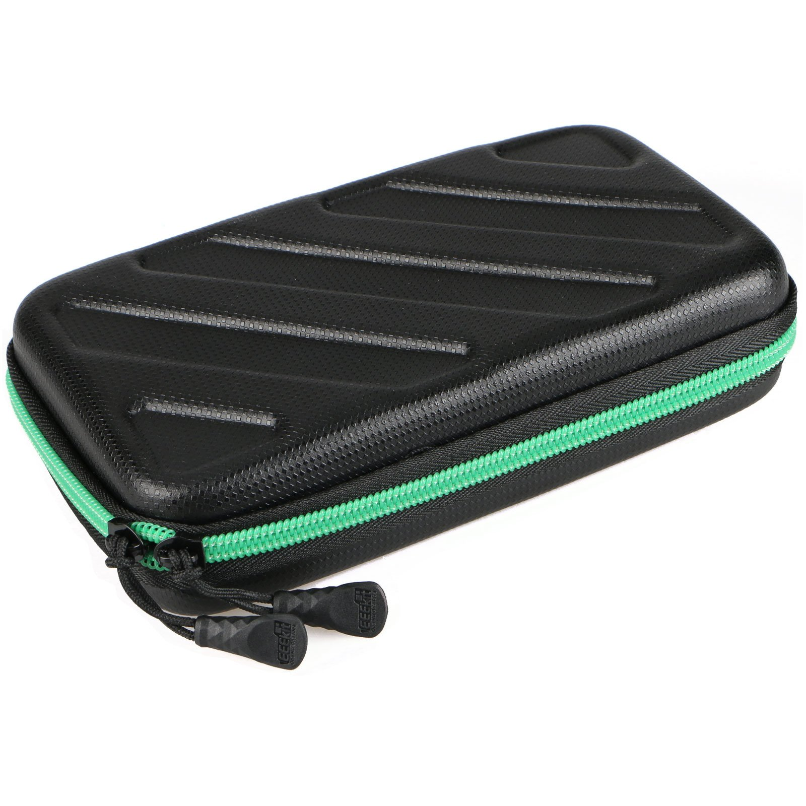 EEEKit Portable Travel Cable Organizer Electronics Accessories Cases Digital Bag for Hard Drives, Charging Cords, USB Charger Adapter, USB Flash Drives, Data Cable (7.3 in x 4.5 in x 1.6 in) by EEEKit (Image #4)