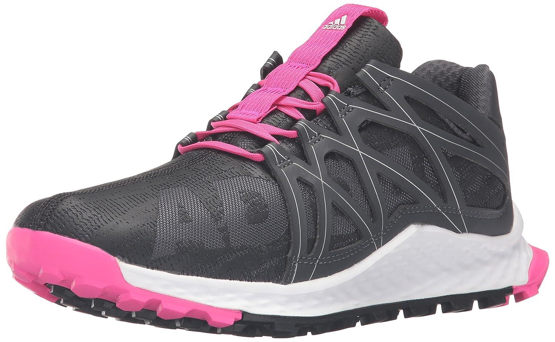 adidas Women's Vigor Bounce W Trail Runner B01B3RUZZS 9.5 B(M) US|Dark Grey/Black/Shock Pink S