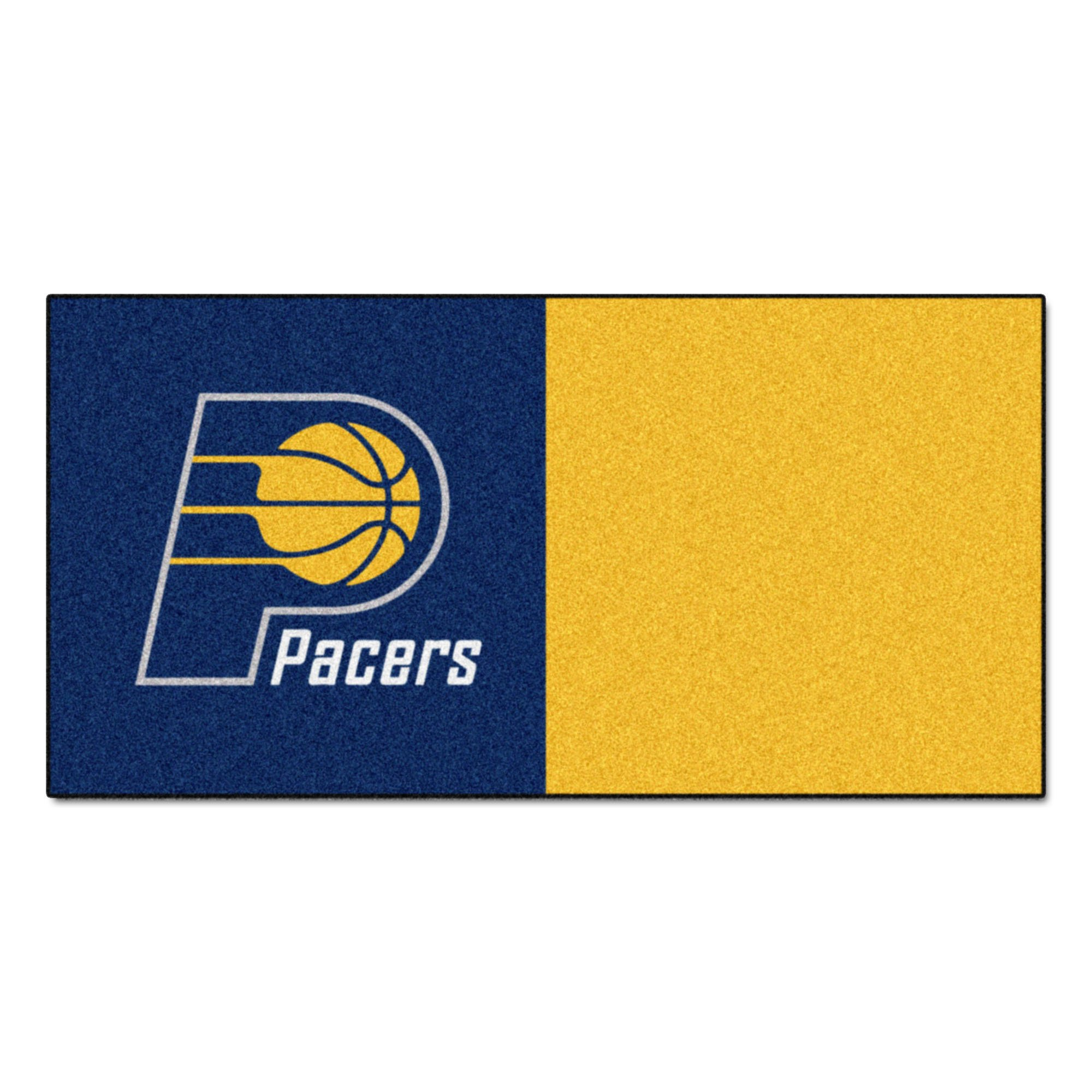 FANMATS NBA Indiana Pacers Nylon Face Team Carpet Tiles