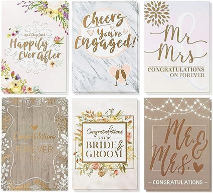 Amazon.com: 36 unidades elegante boda específico tarjetas de ...
