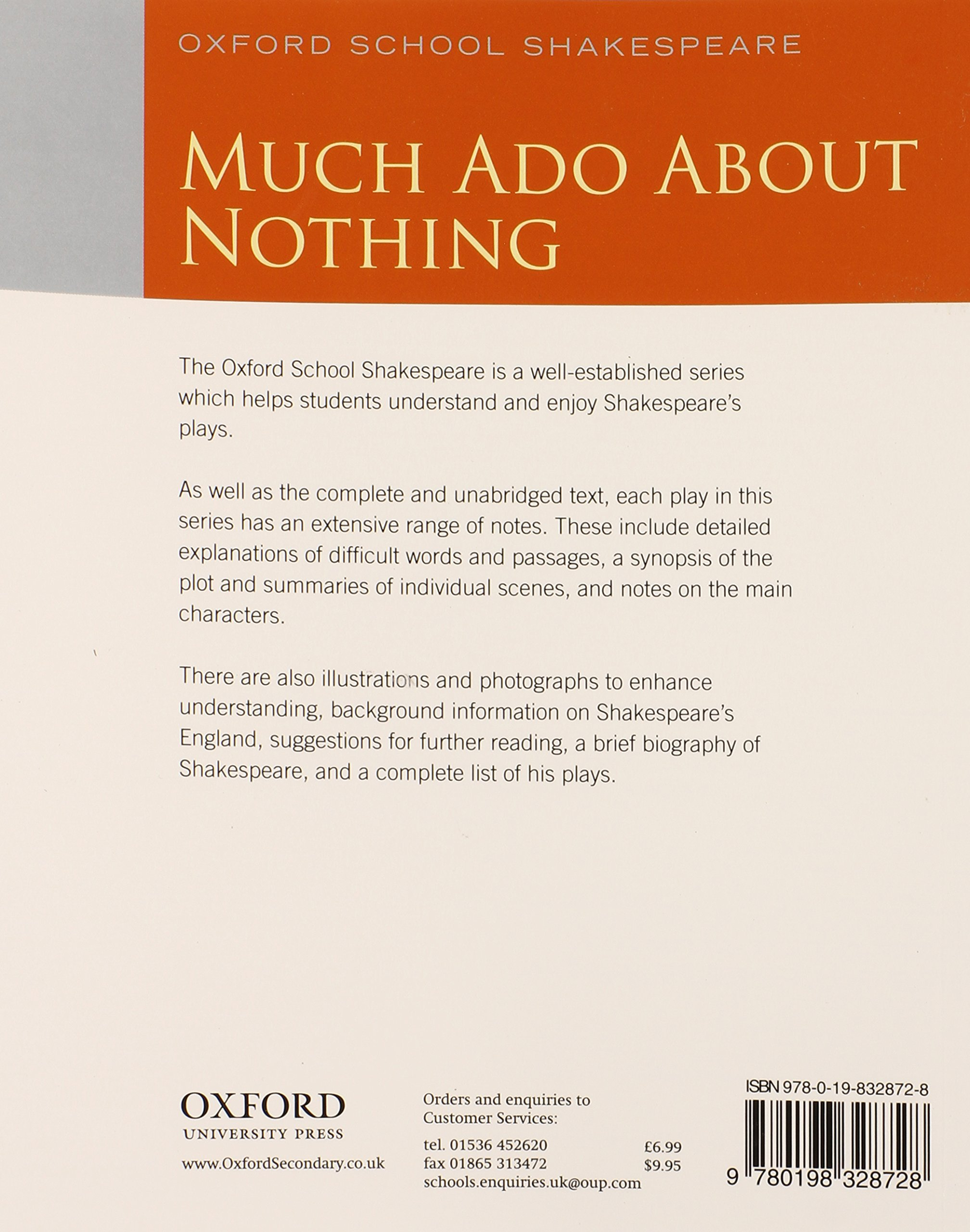 Oxford School Shakespeare Much Ado About Nothing Amazon