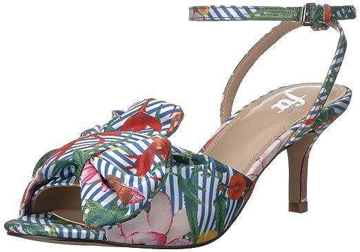 13f6340bf58ad The Fix Women's Jackelyn Kitten Heel Bow Sandal Heeled