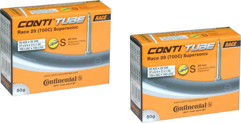 42 60 80mm NE Presta Valve Continental 28 Road Bike Inner Tube Race 700c 20//25c