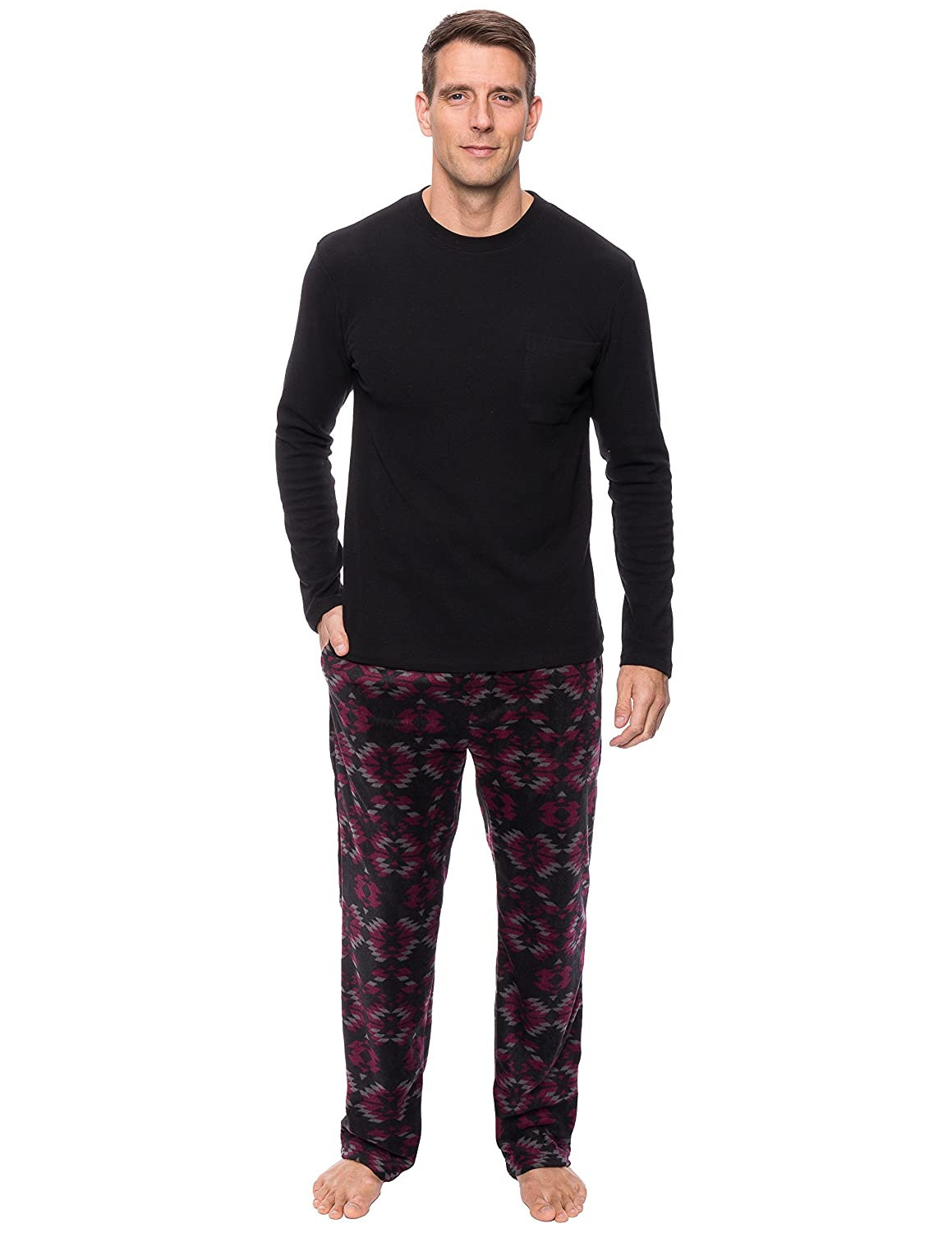 Noble Mount Mens Microfleece Lounge Set