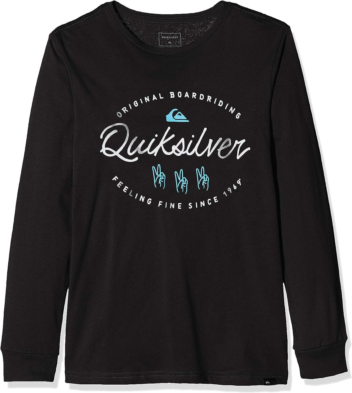 Quiksilver Wave Slaves-Camiseta de Manga Larga para Chicos 8-16, Niños: Quiksilver: Amazon.es: Deportes y aire libre