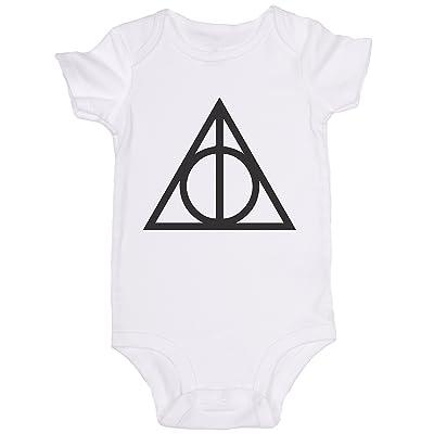 """Deathly Hallows"" / Harry Potter / JoviGear / Cute Baby Onesie"