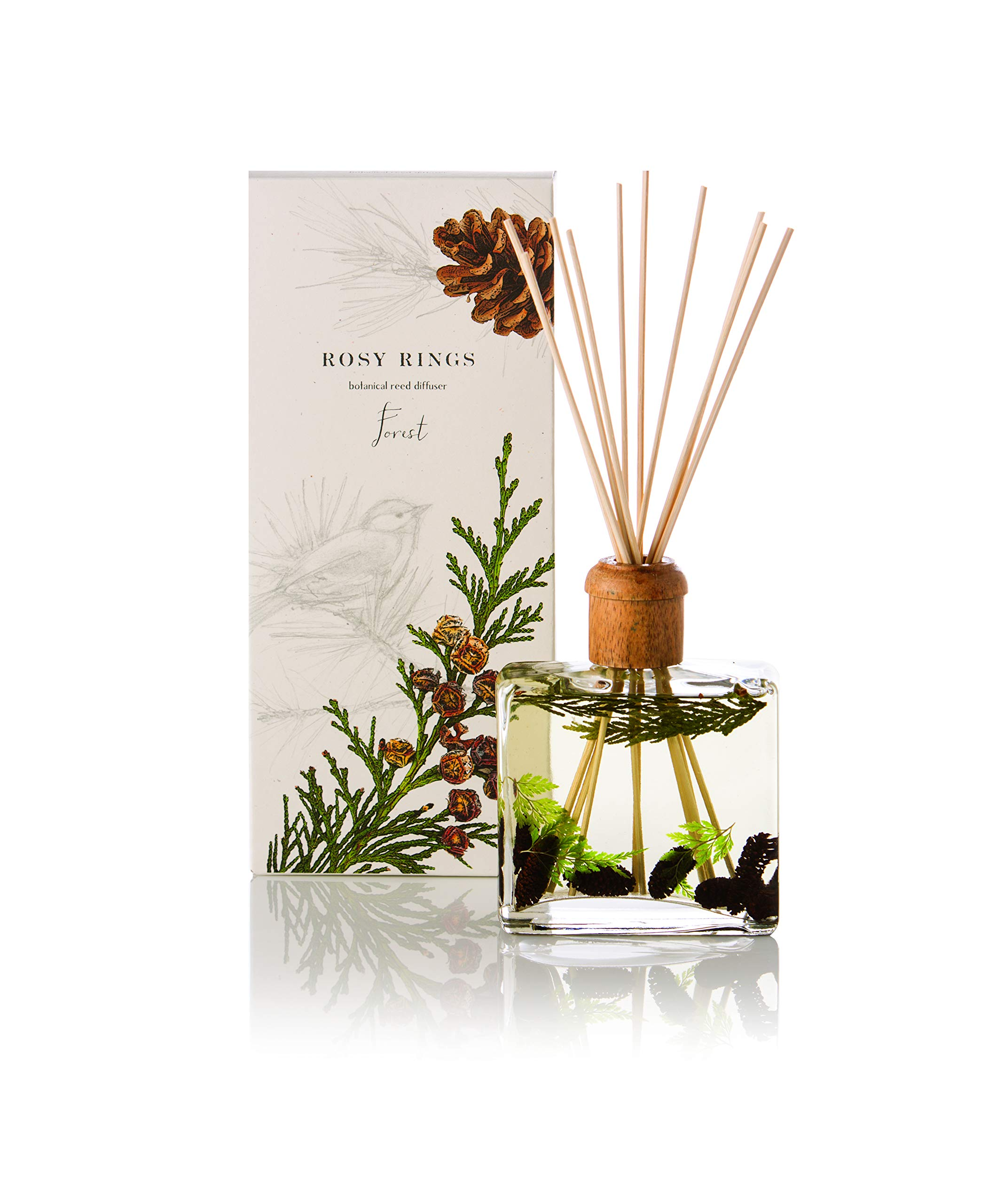 Rosy Rings Botanical Reed Diffuser - Forest by Rosy Rings