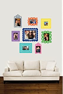 Amazoncom Wallies Wall Decals Colorful Frames Wall Stickers - Wall decals with picture frames