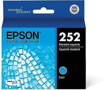 Epson T252220 DURABrite Ultra Cyan Standard Capacity Cartridge Ink
