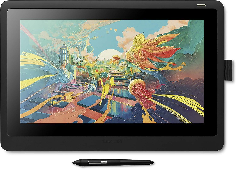 ワコム 液タブ 液晶ペンタブレット Wacom Cintiq 16 FHD ブラック アマゾンオリジナルデータ特典付き DTK1660K1D