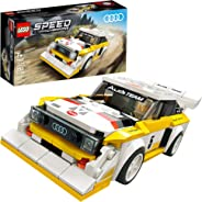 LEGO Speed Champions 1985 Audi Sport Quattro S1 76897 Toy Cars for Kids Building Kit Featuring Driver Minifigure, New 2020 (2