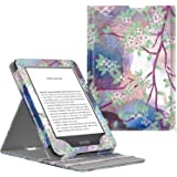 MoKo Case Fits All-New Kindle (10th Generation, 2019) / Kindle (8th Generation, 2016), Premium Vertical Flip Cover with Auto Wake/Sleep, Not Fits Kindle Paperwhite - Lilac