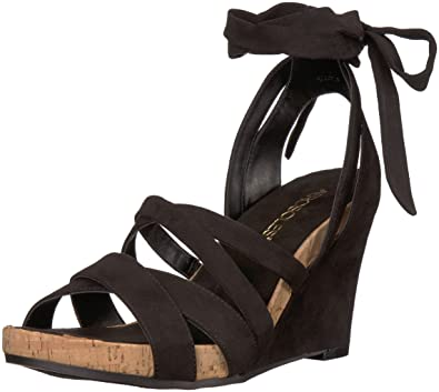 36680b47c7 Amazon.com | Aerosoles Women's Lilac Plush Wedge Sandal | Shoes