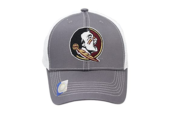 Image Unavailable. Image not available for. Color  Collegiate Headwear Men s  Florida State Seminoles Embroidered Grey Ghost Mesh Back Cap 71164c9d6170