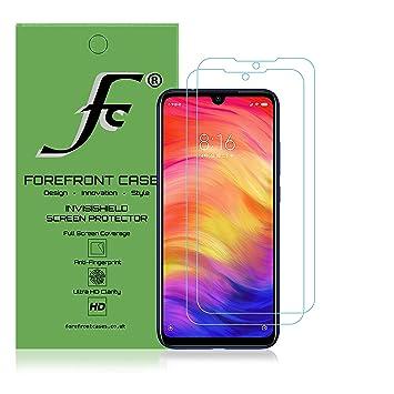 Forefront Cases Hidrogel Protector de Pantalla para Xiaomi Redmi Note 7-2 Piezas - Cubierta de Pantalla Completa - Protección Irrompible, Autocurativa ...