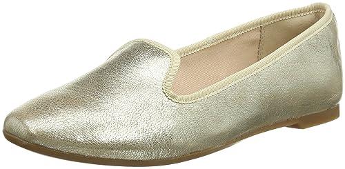 Clarks Chia Milly, Mocasines para Mujer, Plateado (Champagne), 40 EU: Amazon.es: Zapatos y complementos