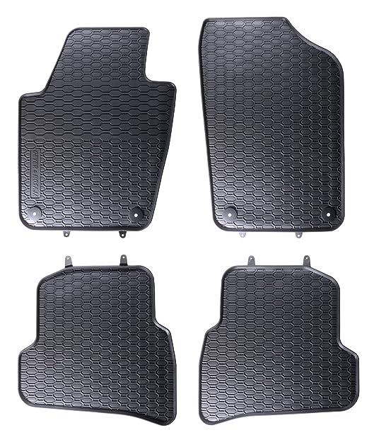 4 opinioni per Tappeti Auto Tappetini in gomma su misura 1199149210011 set completo nero