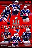 Amazon Price History for:Trends International RP15138 Collector's Edition Wall Poster Super Bowl Li Champions Ne Patriots, 24 x 36