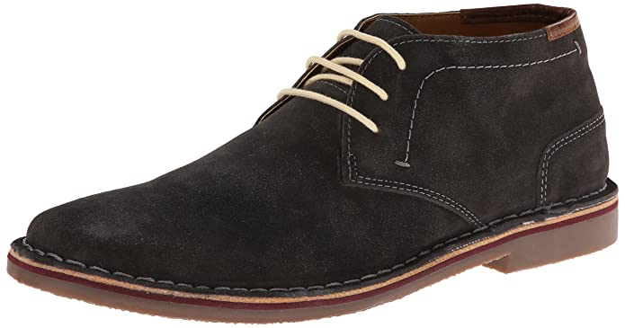 Kenneth Cole REACTION Men's Desert Sun SU Chukka Boot,Dark Grey,7 M US
