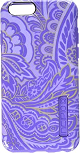 Incipio iPhone 6/6s Case, [Hard Shell] [Dual Layer] DualPro Case for iPhone 6/6s-Paisley Purple