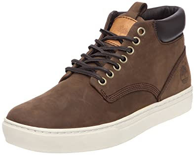 Timberland Men's Ek 2.0 Cupsole Chukka Lace Up Flats brown