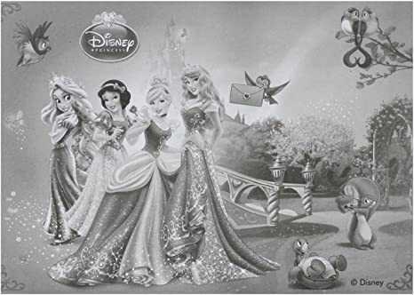 Unique Party 71920 Disney Princess and Animals Activity Packs Party Bag Fillers 4 Sets