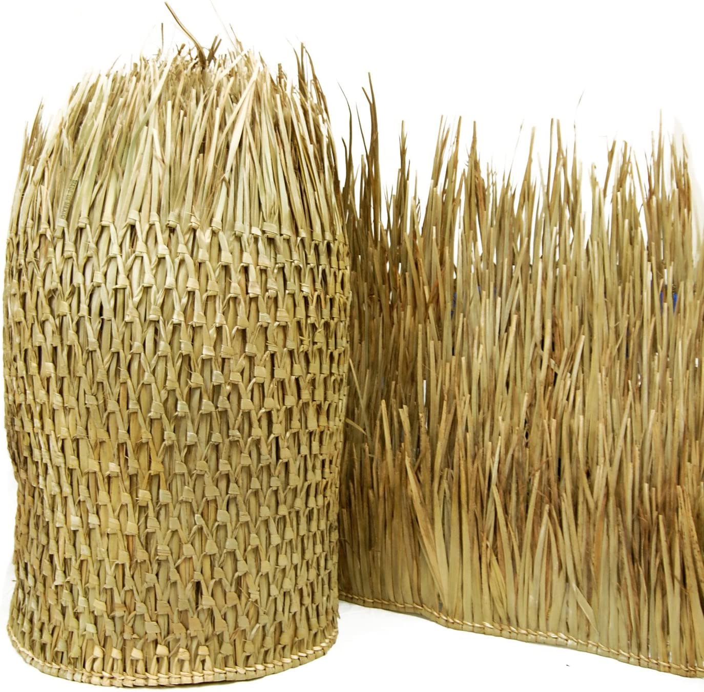 """FOREVER BAMBOO 511-60FB Mexican Palm Thatch Runner, 35"""" x 60'"""