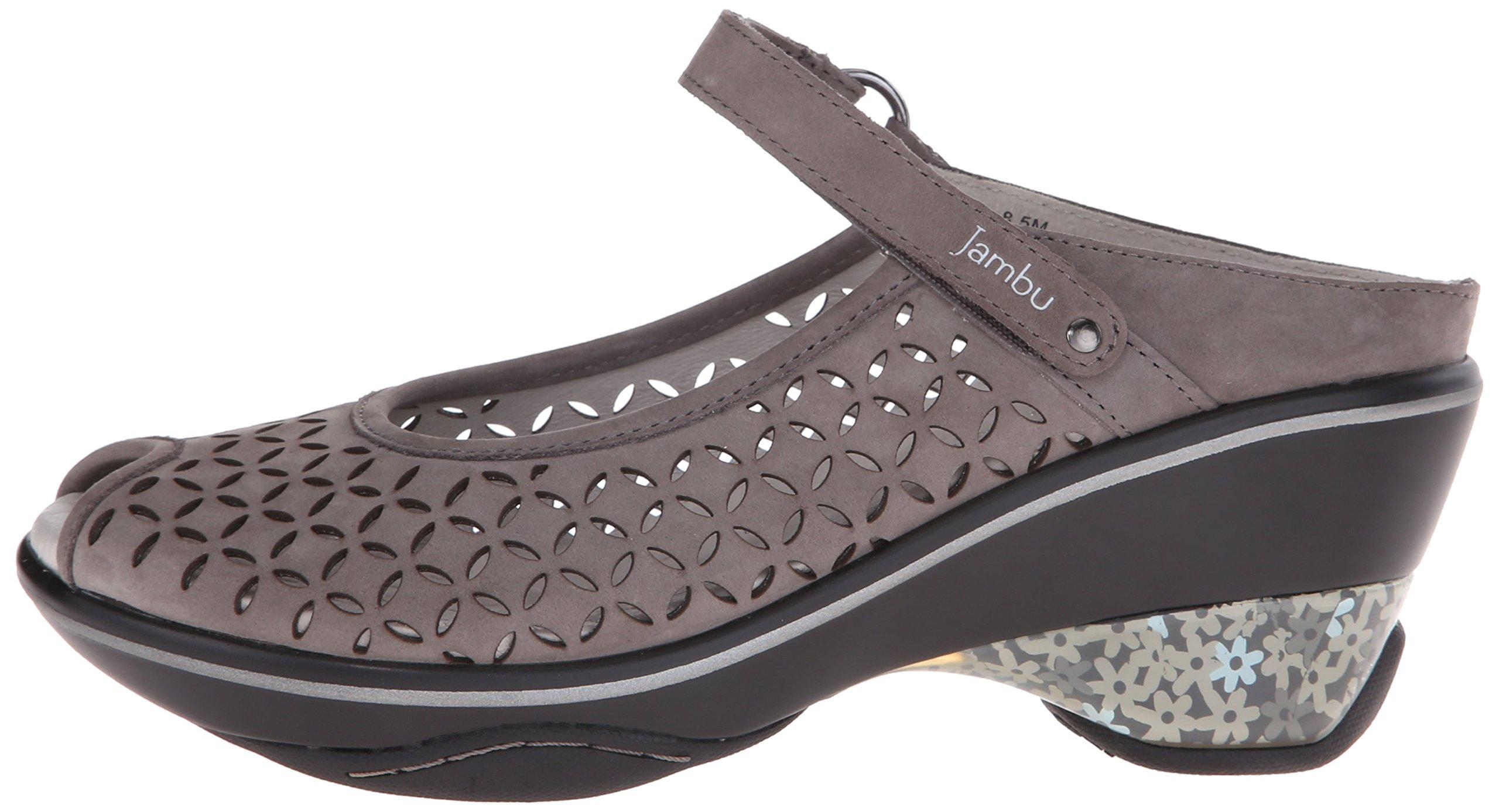 Jambu Women's Journey Encore Wedge Sandal, Dark Grey, 10 M US by Jambu (Image #5)