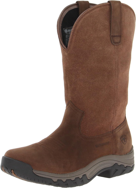 Ariat Terrain Pull-On Waterproof Boots - Women's Western Leather Work Boot