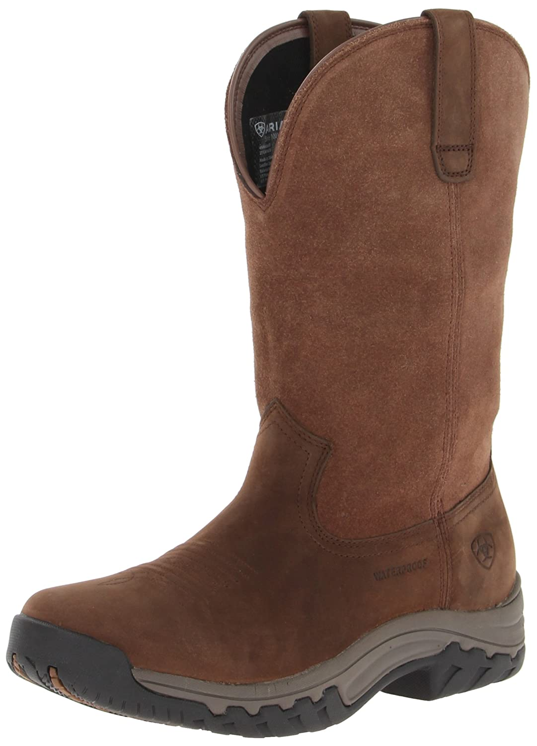 Ariat Women's Terrain Pull-on H2o Western Boot B00BI5E7V4 7.5 B(M) US|Distressed Brown